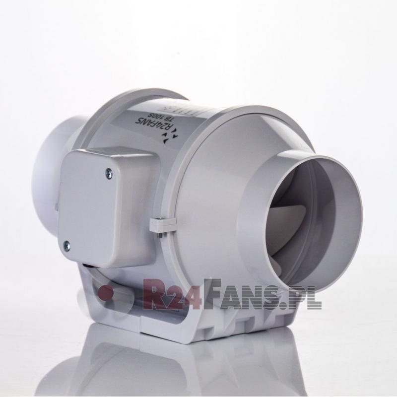 Wentylator kanałowy 100mm TB100S R24fans, Wentylator